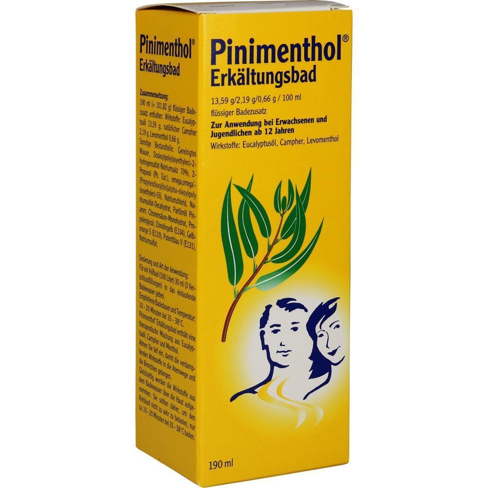 Pinimenthol Schwangerschaft