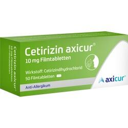 CETIRIZIN AXICUR 10MG